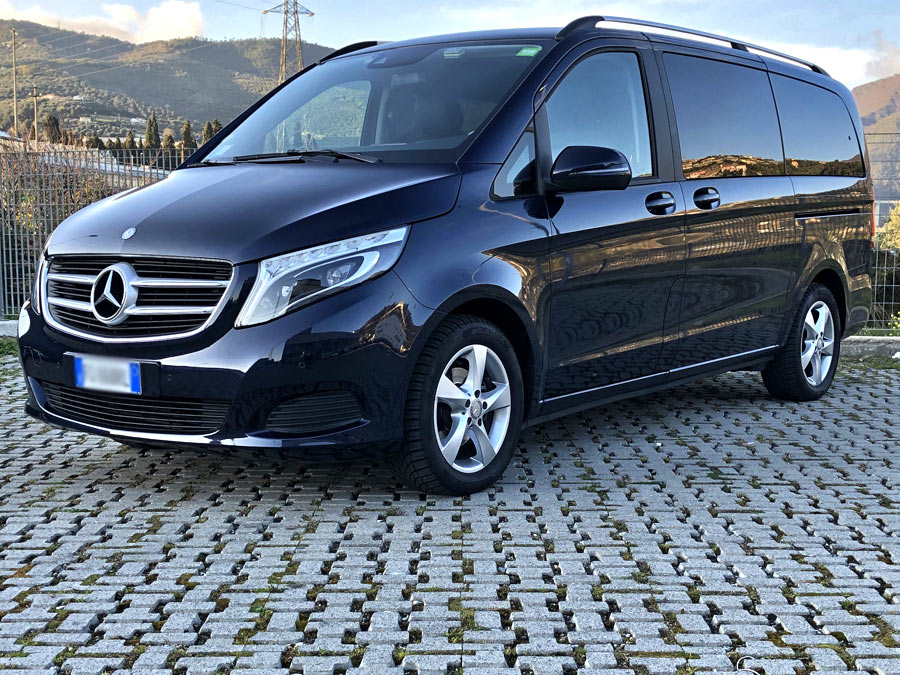 Rent car with driver Sanremo